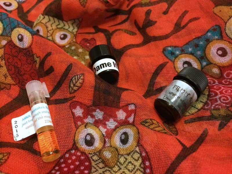 indie perfumes samples