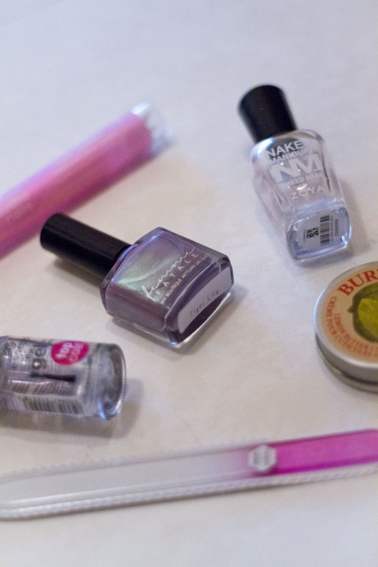 my favourite nail care items: femme fatale tiger lily nail polish