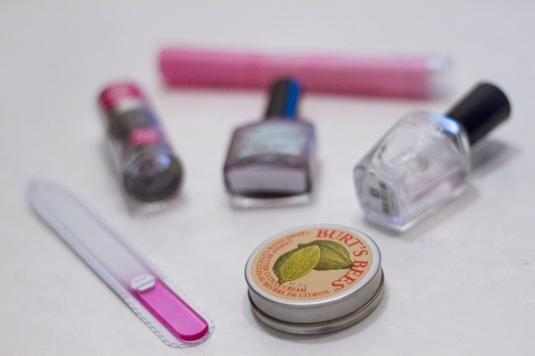my favourite nail care items: burt's bees cuticle balm and zoya glass file
