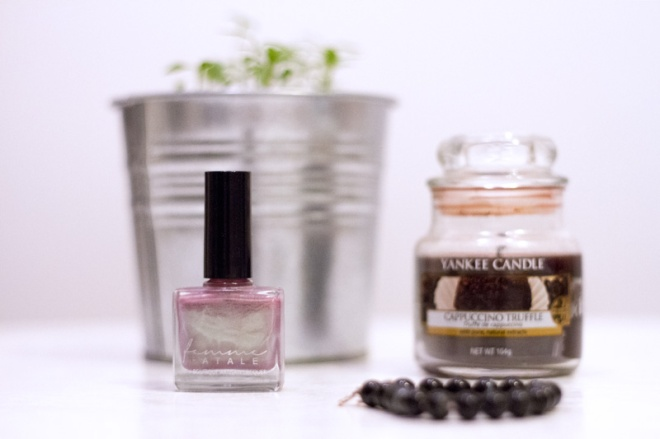 Femme Fatale Tiger Lily nail polish